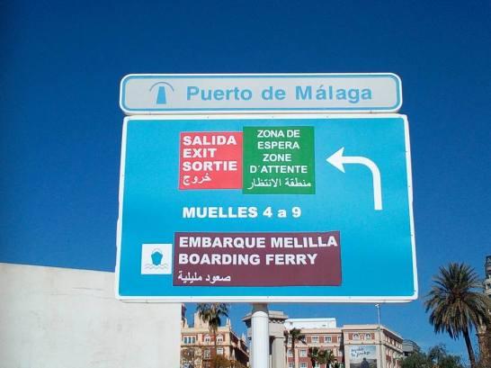 Embarque a Melilla