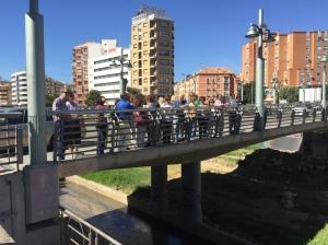2017-05-06 Puente de la Misericordia. Al fondo el barrio del Perchel