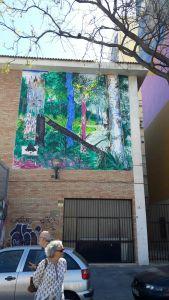 Arte urbano en el Soho.Jane's Walk Festival Málaga 2017. Foto R. Valseca