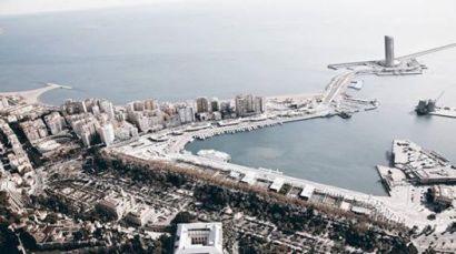 Visión panorámica puerto Andrés Flores